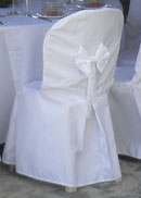 white chair covers for bistro chair covers
